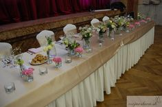 pink roses with cream eustoma and gypsophila