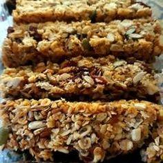 Σπιτικές μπάρες δημητριακών (granola) συνταγή από marilouthegreat - Cookpad Granola, Healthy Recipes, Healthy Meals, Healthy Choices, Diet, Vegan, Cookies, Vegetables, Cake