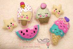 Linha Kawaii - Candys Moldes disponíveis em Apostila Digital