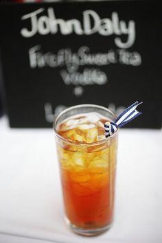 the signature drink- Lemonade sweet tea and vodka.