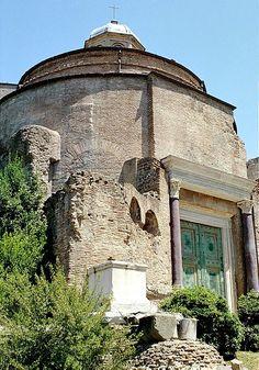 Temple of Romulus: Roman Forum, Rome