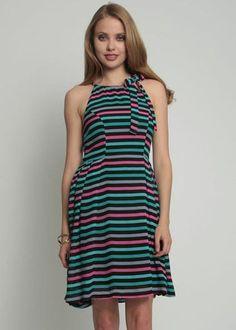 Wonder Dress - Disco Stripe