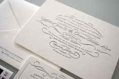 a selection of graphic projects Wedding Stationary, Wedding Invitations, Invites, Calligraphy Print, 100 Layer Cake, Graphic Projects, Typography, Lettering, Invitation Design