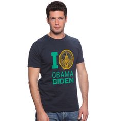 This t-shirt featuring the inaugural seal is a great way to show you're excited for President Obama's second term. Soft 100% jersey cotton. Unisex fit. Made in the USA. $25