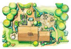 план #landscapearchitecturecourtyard