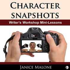 CHARACTER SNAPSHOTS When writers want to give their readers a sneak peek into a character's real or fictional world, they use snapshots. What are Snapshots? Snapshots are vivid descriptions used to help readers create pictures in their Writing Resources, Reading Strategies, Character Description, Product Description, Middle School Writing, Create Picture, Teachers Corner, Writing Characters, Fictional World