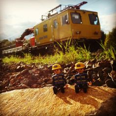 #menatwork #thw #playmobil #eisenbahn #train #railway