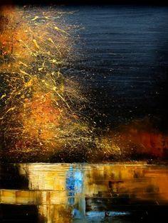 River on Artist Become - Original Art by justyna kopania