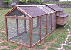Purchase Your High Quality Chicken Coop House with Double Run Today! Cheap Chicken Coops, Portable Chicken Coop, Best Chicken Coop, Backyard Chicken Coops, Chicken Coop Plans, Building A Chicken Coop, Chickens Backyard, Backyard Coop, Backyard Greenhouse