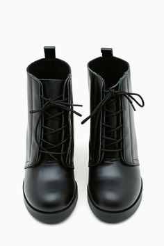 Cheap Monday Layer Laced Bootie   Shop Shoes at Nasty Gal