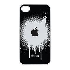 Apple Spray Black Crystal Clear Hard Plastic Case for iPhone 4 by Gadget Glamour  FREE Crystal Clear Screen Protector -- Details can be found by clicking on the image. (Note:Amazon affiliate link)