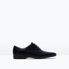 ZARA - MAN - LEATHER DRESS BLUCHER