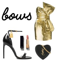 """""""Bows! 👒"""" by sandra-gonz on Polyvore featuring moda, Yves Saint Laurent, Tom Ford y Chanel"""