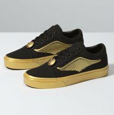 a0345eb59 (eBay Sponsored) Vans Old Skool x Harry Potter Golden Snitch Black Gold  Yellow Size