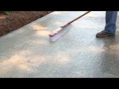 how to resurface a concrete driveway   concrete driveways ... - Patio Refinishing Ideas