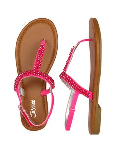 a47c0321f Beaded T Strap Sandals · Girls SandalsT Strap SandalsGirls ShoesCute SandalsKid  ShoesShoes SandalsMe Too ShoesShoe BootsJustice Shoes