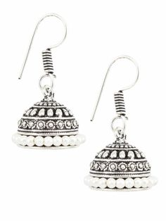 Product information: SKU Color Silver Product Type Earrings Look Fashion Height(cm) Weight(gm) Care Avoid contact with Chemicals such as Perfumes o Oxidised Jewellery, Wedding Earrings, Wedding Wear, Anklets, Look Fashion, Silver Color, Silver Jewelry, Fashion Jewelry, Pearl Earrings