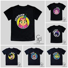 Teen Titans Go Personalized Birthday Toddler by CarbenDesignStudio