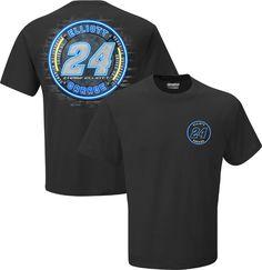Chase Elliott #24 Neon Sign T-Shirt - Coal - The Official Chase Elliott Store