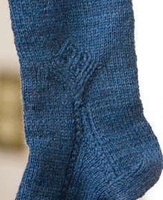 Ravelry: Welsh Socks with a Quirk pattern by Judy Alexander