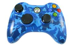 """This is our """"Blue Tiger"""" Modded Controller. All modes are adjustable rapid fire meaning you can choose any speed from 1 to 30 shots per second, depending on specific game restrictions. Since you have 6 classes to choose from you can set each class up to match all of your custom classes in your favorite COD game. You will never have to adjust the controller again! All RapidModz.com controllers are 100% undetectable in all games."""