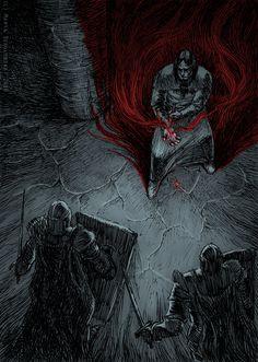 Blood mage by weremoon.deviantart.com on @deviantART