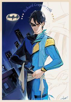 Nightwing. Dick Grayson. <3
