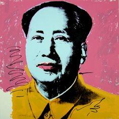 Andy Warhol, Mao 91, Bluegrass Edition http://stevemillerinsuranceagency.blogspot.com/