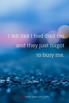 A grief quote that perfectly captures what the depression stage of grief can feel like...