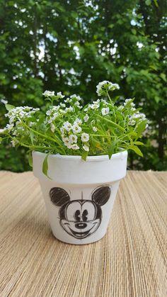 potflowerpotplanterdisney pothandmade potpot for
