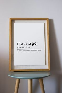 anniversary gift Marriage Definition digital prints Funny Definition marriage definition print 1 year anniversary 2 year anniversary one year anniversary husband gift definition poster 1st Wedding Anniversary Gift For Him, 1 Year Anniversary Gifts, Marriage Anniversary, Paper Anniversary, First Anniversary, Anniversary Ideas, Fathers Day Crafts, Gifts For Mom, File Size