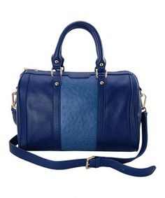 Another great find on #zulily! Maxine Couture Navy Dakota Satchel by Maxine Couture #zulilyfinds