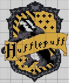 HP Punto de Cruz, Escudo sencillo Hufflepuff
