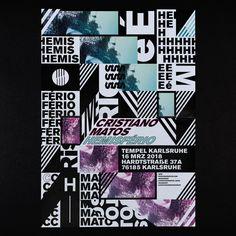 "Gefällt 63 Mal, 3 Kommentare - Marcel Saidov (@jajajajaja_nenenenene) auf Instagram: ""Posterdesign for Cristiano Matos - Hemisfério #Poster #Plakat #typographicposter #typeposter…"""