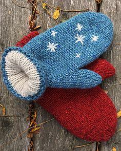 Knitted Mittens Pattern, Loom Knitting Patterns, Crochet Mittens, Fingerless Mittens, Knitting Stitches, Hand Crochet, Knitting Projects, Knitting Socks, Baby Knitting