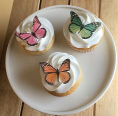 Edible Cupcake Toppers, Precision Cut and Sparkledusted!  ► Handmade / Made for you when ordered ► 100% edible ► Ready to use, precision cut out for