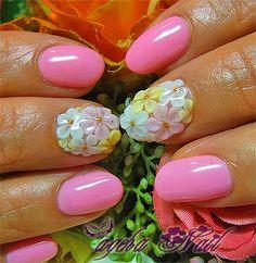 「春ピンク♪お花畑3Ⅾアート♪」の画像|ネイルアーティスト ageha ネイル… |Ameba (アメーバ)