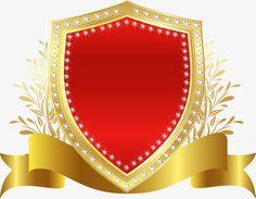 Emblema escudo Vermelho, Vermelho, O Escudo, BadgeImagem PNG