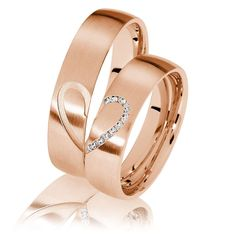 Trauringe Herzfeld Rotgold – 7330 Wedding rings Herzfeld 333 red gold – 7330 Image Size: 1000 x 1000 Source Wedding Rings Simple, Gold Wedding Rings, Unique Rings, Wedding Jewelry, Wedding Bands, Engagement Rings Couple, Couple Rings, Couples Wedding Rings, Red Gold