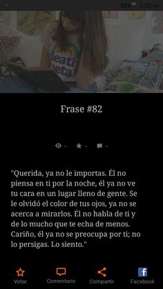 Wattpad, Frases, Faces