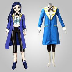 Blue Long Sleeves Fashionable My-Otome Cosplay Costume Sell Online