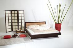 "Bett ""Ari Kata"" in Japanischem Stile"