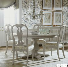 Neutral Interiorsethan Allen Dining Roomcountry French Dining Beauteous Ethan Allen Dining Rooms Design Inspiration