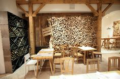 the woodshed space