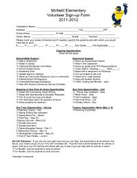 sign up sheet online