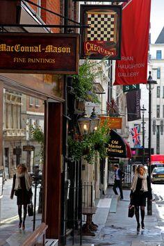 Art Dealers on Duke St in St. James', London
