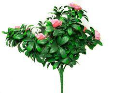 "Geranium Street's new 18"" artificial Pink azaleas."