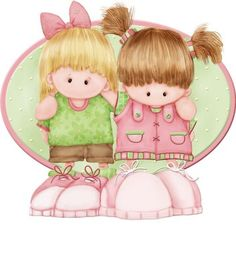 Buttons and Bows – Babies & kids – Álbumes web de Picasa – Best Art images in 2019 Cute Images, Cute Pictures, Illustrations, Illustration Art, Mig E Meg, Web Gallery, How To Make Toys, Colouring Pics, Coloring Sheets