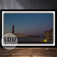 Downloadable Image, Digital Photo, Printable Wall Art, Twilight, Sunset, Clear Sky, Industrial, Building, Vienna, Austria Urban Photography, Night Photography, Clear Sky, Photo Tree, Landscape Photos, Nature Photos, Printable Wall Art, Digital Art, Printables