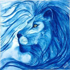 leon azul
